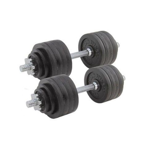 Titan Fitness Pair Adjustable Cast Iron Dumbbells