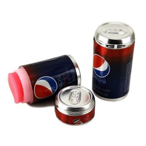 Pepsi Wild Cherry Flavoured Lip Balm Can