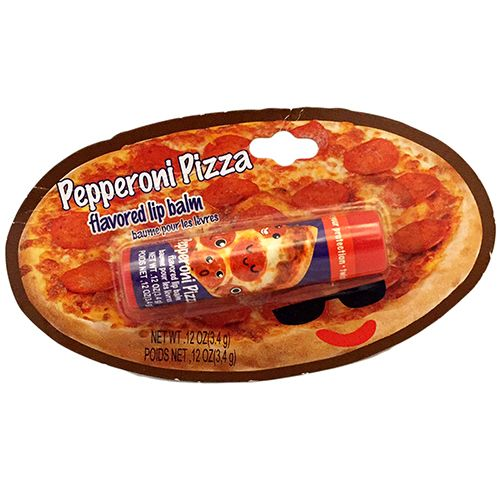 Pepperoni Pizza Lip Balm