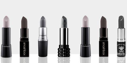 gray lipstick
