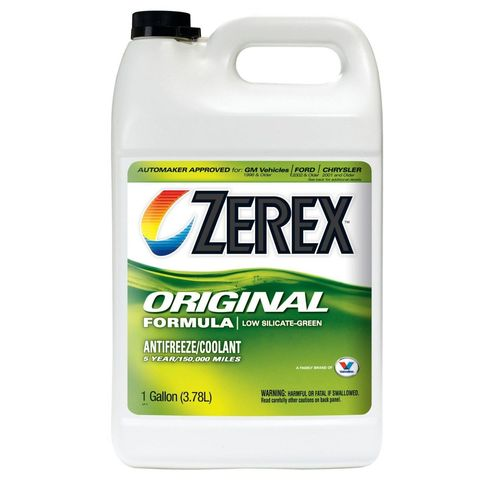 green coolant antifreze