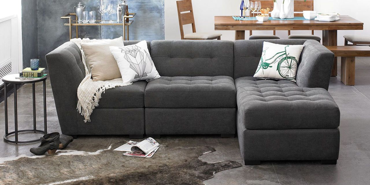 9 Best Sectional Sofas Couches 2018 Stylish Linen and Leather