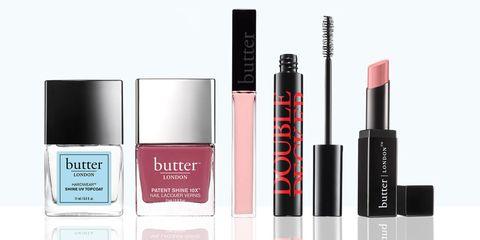 Butter London makeup and nail polish
