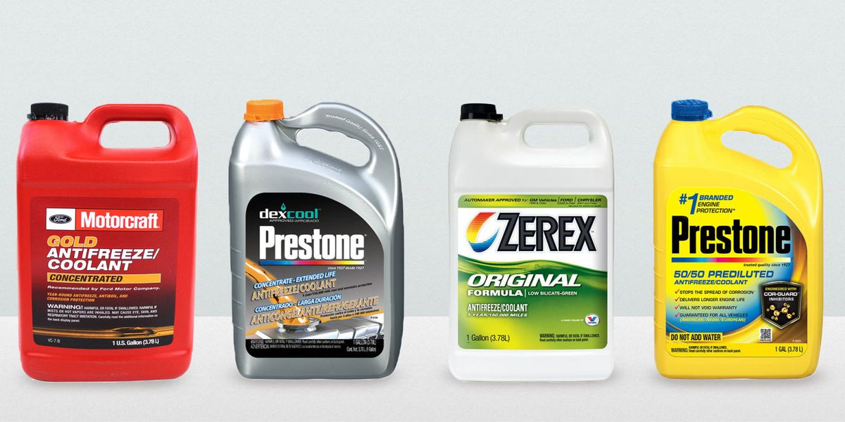 7 Best Coolants for Every Vehicle 2018 - Types of Coolant