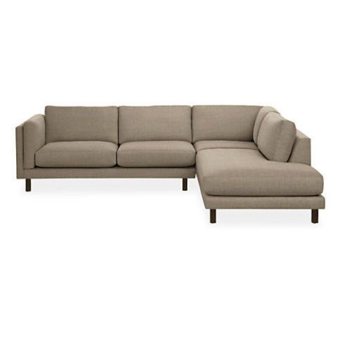 "<p><strong><em>from $3,997, </em></strong><strong><em><a href=""http://www.roomandboard.com/catalog/living/sectionals/holden-sectionals"" target=""_blank"">roomandboard.com</a></em><a href=""http://www.roomandboard.com/catalog/living/sectionals/york-sectionals"" target=""_blank""></a></strong><a href=""http://www.roomandboard.com/catalog/living/sectionals/york-sectionals"" target=""_blank""></a> </p><p>Users love this sectional for its low profile and deep, cushy seating. Though sectionals can sometimes feel clunky in a space, this one's open-chaise style reads as lighter and less imposing.</p>"