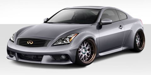 infiniti g37/q60 widebody kit duraflex
