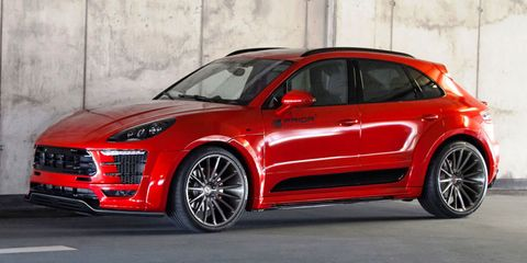 porsche macan prior design body kit
