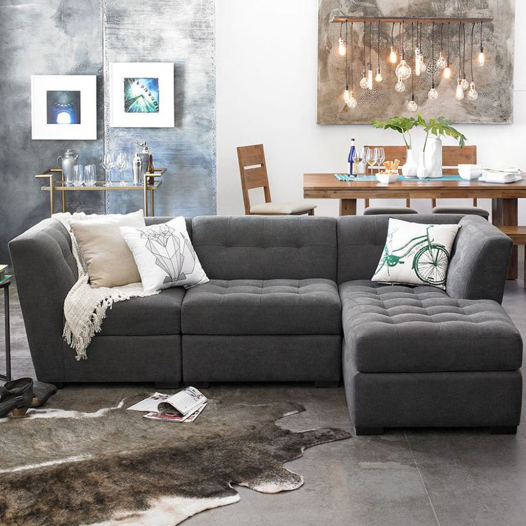 20 Best Collection Of White Leather Corner Sofa: 9 Best Sectional Sofas & Couches 2018