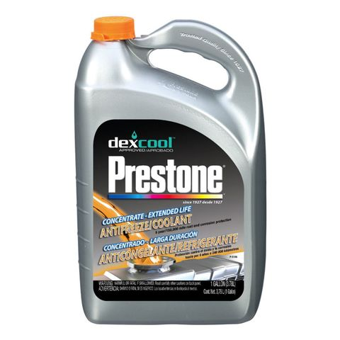 prestone dex-cool coolant antifreeze