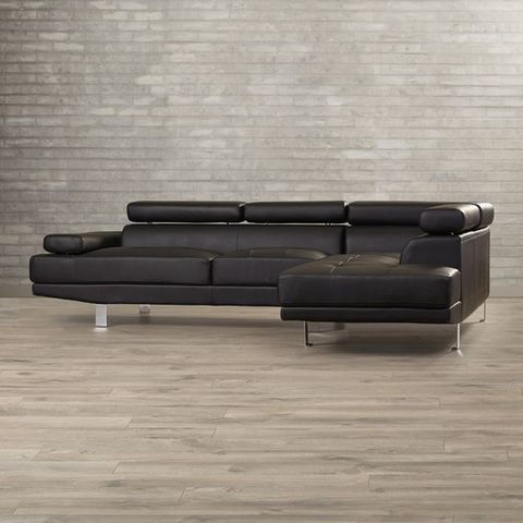 "<p><strong><em>$925, </em></strong><strong><em><a href=""https://www.allmodern.com/Agosto-Right-Hand-Facing-Sectional-BRSD3377-BRSD3377.html"" target=""_blank"">allmodern.com</a></em><a href=""https://www.allmodern.com/Agosto-Right-Hand-Facing-Sectional-BRSD3377-BRSD3377.html"" target=""_blank""></a></strong><a href=""https://www.allmodern.com/Agosto-Right-Hand-Facing-Sectional-BRSD3377-BRSD3377.html"" target=""_blank""></a> </p><p>For the bargain shopper with an eye for design, this firm-cushioned sectional showcases a distinctive, modernist shape in an easy-to-clean faux leather material. </p><p><strong>More: </strong><a href=""http://www.bestproducts.com/home/decor/g31/chaise-lounge-sofas/"" target=""_blank"">10 Best Chaise Sofas for Serious Lounging</a><br></p>"