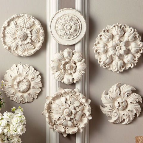 Bliss Home & Design Chambord Wall Medallions