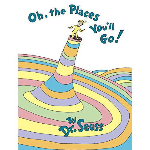 oh, the places you'll go book dr. seuss