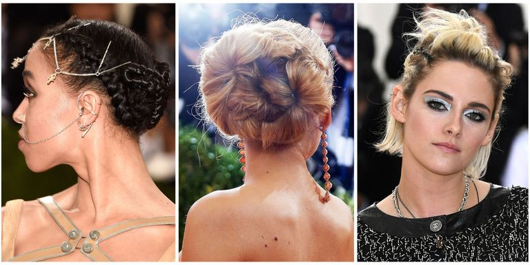 10 Best Updo Hairstyles for Women in Fall 2018 - Celebrity Inspired ...