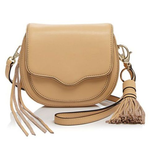 rebecca minkoff mini suki crossbody in tan