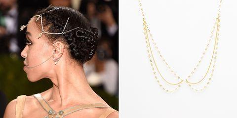 Ear, Hairstyle, Earrings, Fashion accessory, Bridal accessory, Jewellery, Style, Hair accessory, Body jewelry, Fashion,