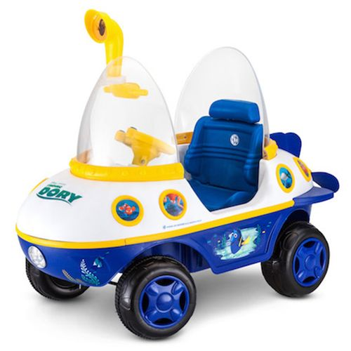 kid trax finding dory submarine ride-on toy