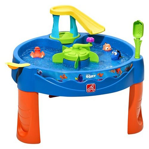 step2 finding dory swim and swirl water table