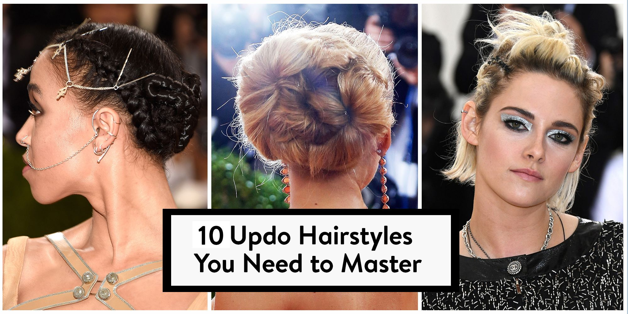 10 Best Updo Hairstyles For Women In Fall 2018 Celebrity Inspired