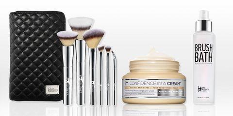 IT cosmetics makeup brushes