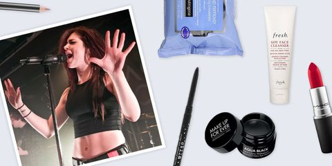 Against the Current Chrissy Costanza makeup beauty products