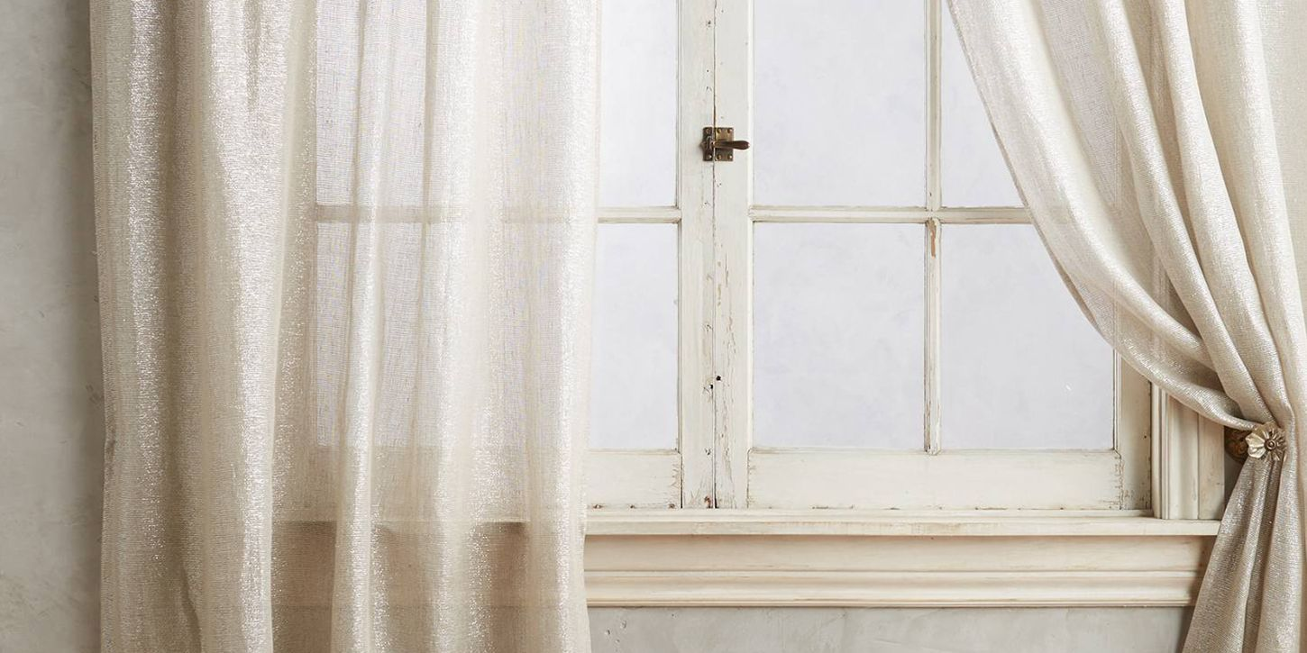 10 Best Sheer Curtains 2018 Pretty Sheer Curtain Panels And Drapes
