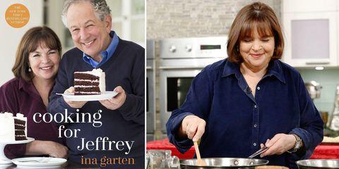 Ina Garten's new cookbook Cooking for Jeffrey
