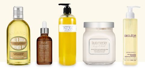 almond oil beauty products