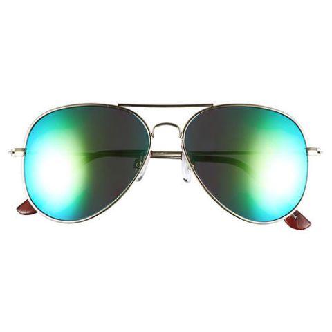 bp mirrored aviator sunglasses