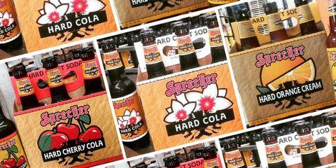 Sprecher Brewery hard soda