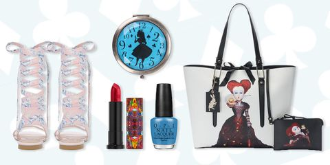 Alice in Wonderland fashion and makeup