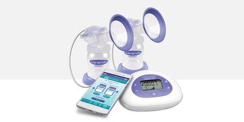 Lanisoh bluetooth breast feeding pump