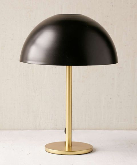 Urban Outfitters Iris Dome Table Lamp