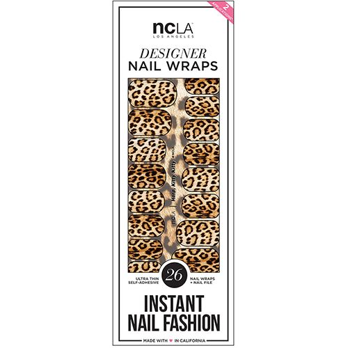 NCLA Nail Wraps in Here, Kitty Kitty