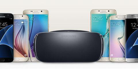 Samsung VR headset promotion