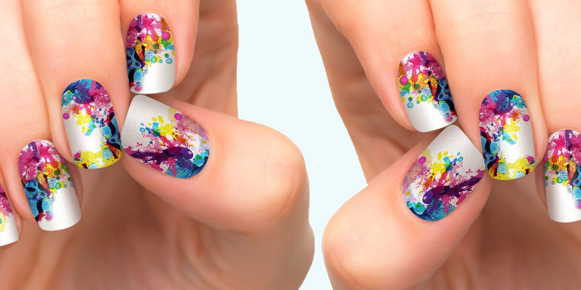 9 Best Nail Stickers for Colorful, Fun Nails 2018 - Easy to Use Nail ...