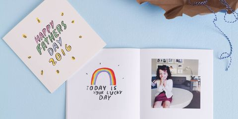 Rad Dad father's day photo book