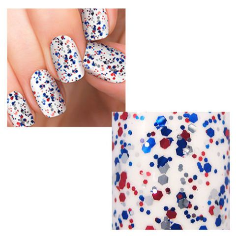 Incoco American Sweetheart Nail Polish Appliques in American Spirit