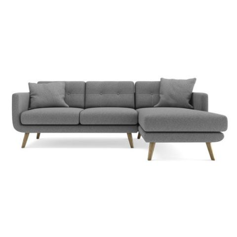 Urbn Wagner Three Seater Sectional Sofa With Right Arm Facing Chaise Set