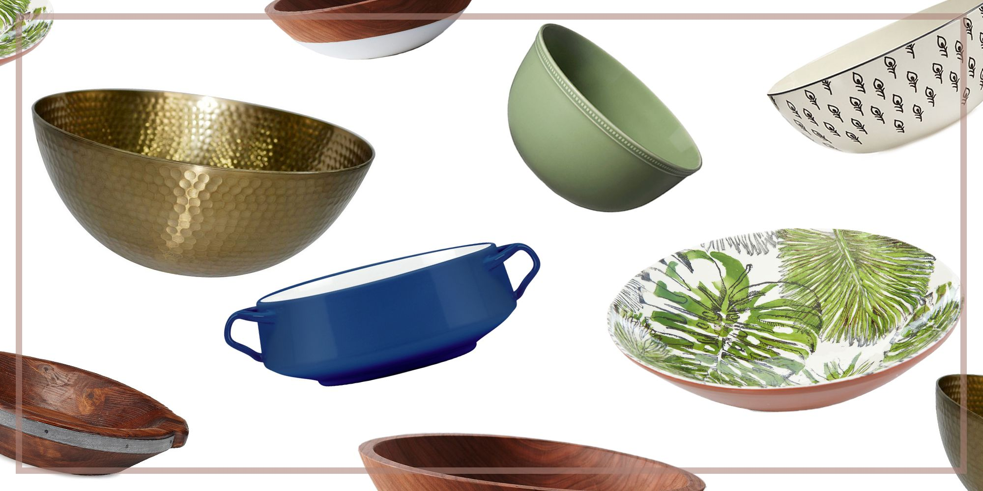 14 Best Serving Bowls In 2018 Decorative Serving Bowls For Soups And Salads