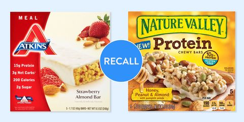 listeria recall - Nature's Valley and Atkins bars