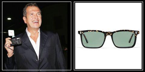 L.G.R. Mario Testino-inspired sunglasses