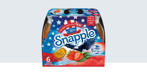 limited edition patriotism Snapple