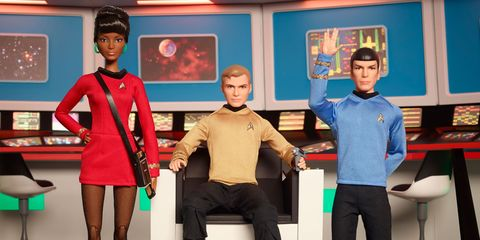 Star Trek barbies