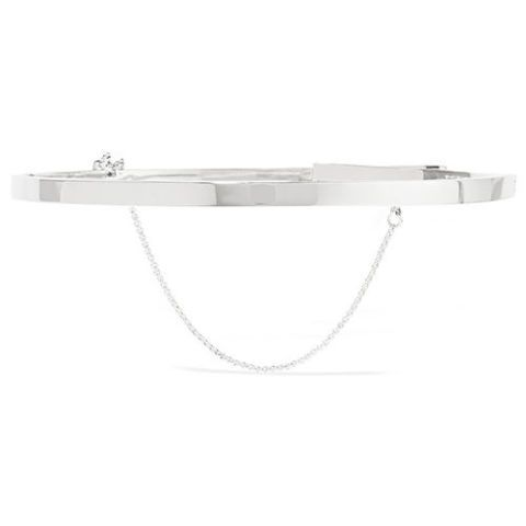 eddie borgo silver chain choker necklace