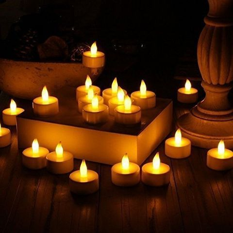 Divine LEDs Stunning Flameless LED Tea Light Candles