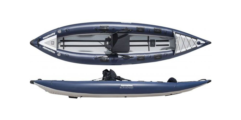 "<p><em><strong>$800 </strong></em><a href=""https://www.rei.com/product/100416/aquaglide-blackfoot-hb-angler-sl-inflatable-kayak"" target=""_blank"" class=""slide-buy--button""><em><strong>BUY NOW</strong></em></a></p><p>Inflatable and durable, this sit-in kayak will keep all your fishing gear organized and dry on the water. An extra wide design and a high-pressure, hard-bottom floor provide stability on choppy waters and durability to prevent ruptures in case you snag your hook on the sidewall. Best of all, at the end of the day, this kayak can deflate and pack  into the included carrying backpack so you can throw it in the trunk next to that <a href=""http://www.bestproducts.com/appliances/small/g739/beverage-coolers-at-every-price/"" target=""_blank"">cooler</a> full of freshly caught bass.    <br></p>"