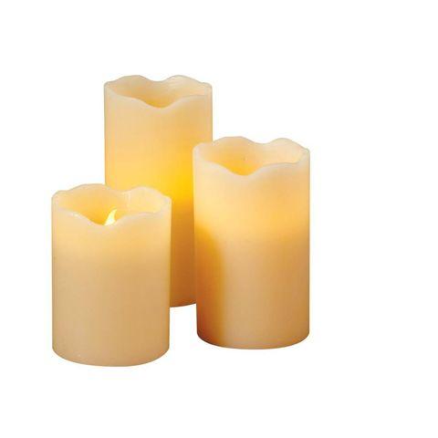 Target Set of 3 Flameless Pillar Candles