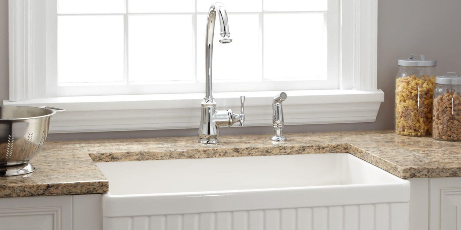 8 Best Farmhouse Sinks For Your Kitchen 2018 Farmhouse And Apron Sinks