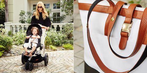 Rachel Zoe x Quinny and Maxi stroller and diaper bag