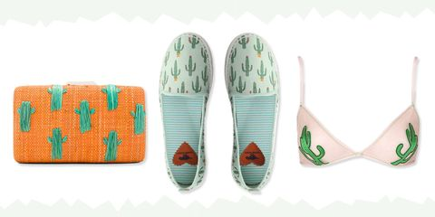 cactus print clothing and accessories